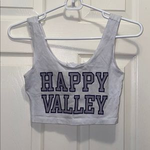 Happy valley crop top
